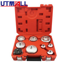 Oil Filter Wrench Socket Set Professional 9pc Cup Type Universal Remover Tool