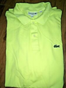 NEW-MENS-LACOSTE-SHORT-SLEEVE-CLASSIC-COTTON-PIQUE-POLO-SHIRT-Multiple-Sizes