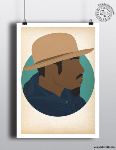 Minimalist Music Poster Collection Minimal art by Posteritty HIP HOP HEADS