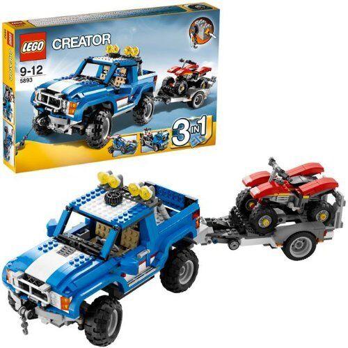 LEGO® Creator 5893  Geländewagen mit Quad NEU ungeöffnet  3 in 1 Modelle