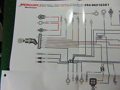 mercruiser 43l a/b 50l a sterndrive  43l a/b 50l tks wiring harness  diagram  ebay