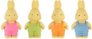 Novelty Cute Rabbit Character Eraser Rubbers great for easter gifts