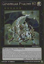 YU-GI-OH CARD: CONSTELLAR PTOLEMY M7 - GOLD RARE - PGL3-EN071 1ST EDITION