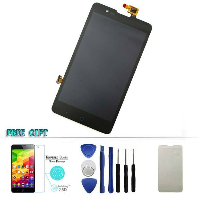 Black LCD Display Touch Screen Digitizer Assembly Replacement For ZTE V5/U9180