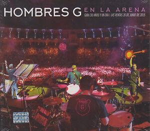 CD-Hombres-G-NEW-En-La-Arena-2-CD-039-s-1-DVD-Gira-30-Anos-FAST-SHIPPING