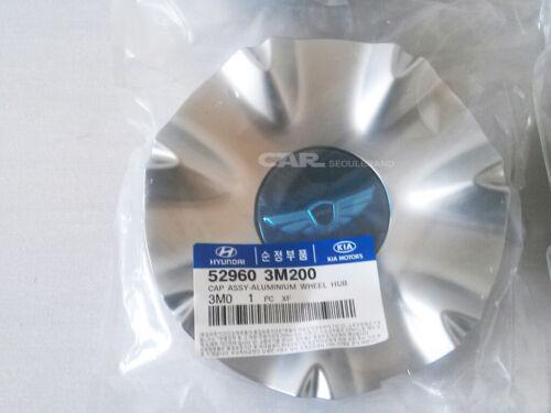 """HYUNDAI 08-13 Genesis sedan  18/"""" 4 Wheel Emblem Caps Mark-hood /& Mark Tail set."""