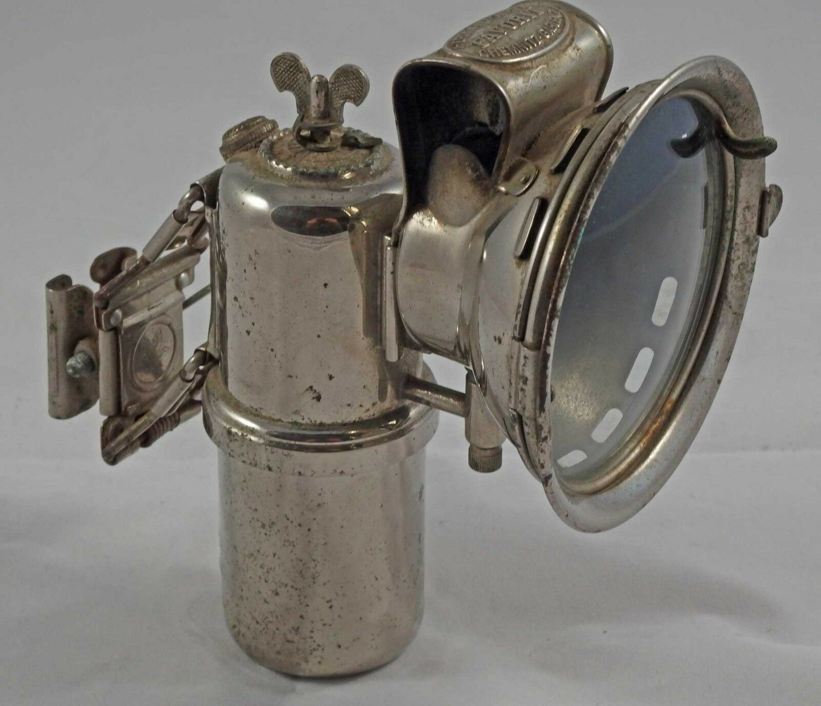 Carbide lamp carbide lamp-herm riemann's favorit-year 1910