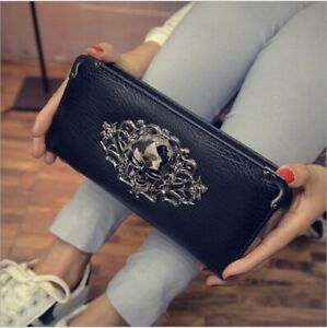 Women-Purse-Leather-Wallet-Ladies-Clutch-Bag-Long-Handbag-Phone-Coin-Card-Holder