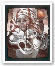 AFRICAN AMERICAN ART PRINT Light by Lionel Laurenceau