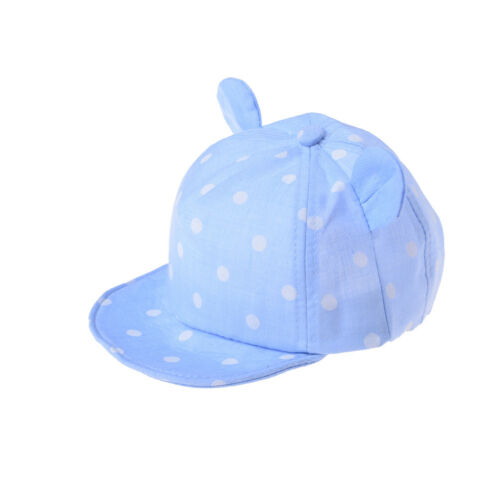 Dot Baby Caps New Girl Boys Cap Summer Hats For Boy Infant Sun Hat FO