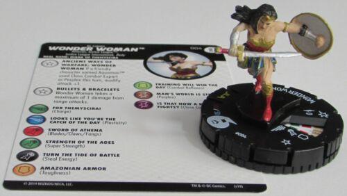 WONDER WOMAN FF004 DC Universe Rebirth Fast Forces HeroClix