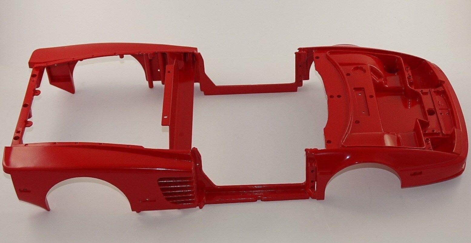 POCHER 1:8 Ferrari Testarossa Cabrio rosso k52 Metallo Carrozzeria 52-10 g8