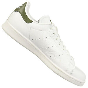 Details zu Adidas Originals Stan Smith Trainers Shoes B41477 Full Grain Leather White Green