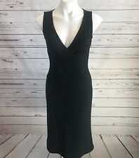 c768a1167c0 Banana Republic Woman s Little Black Dress SIZE 2 Empire Waist V Neck NWT   128