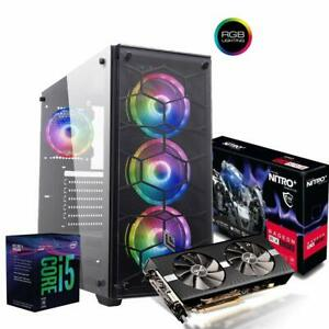 Pc-gaming-i5-Ram-8Gb-Ssd-M-2-256-Gb-Hdd-1-Tb-Radeon-RX-590-8-Gb-Windows-10-PRO