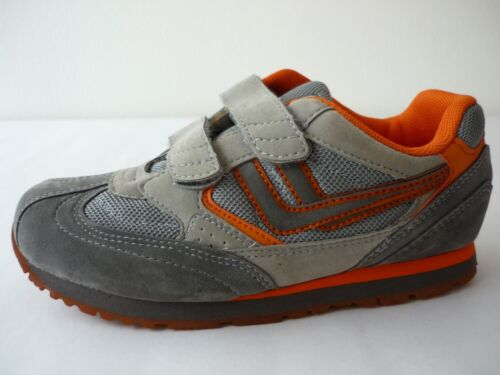 Details about  /Killtec Low Shoes Boys 33 Trainers Sneakers Grey//Orange Touch Fastener New