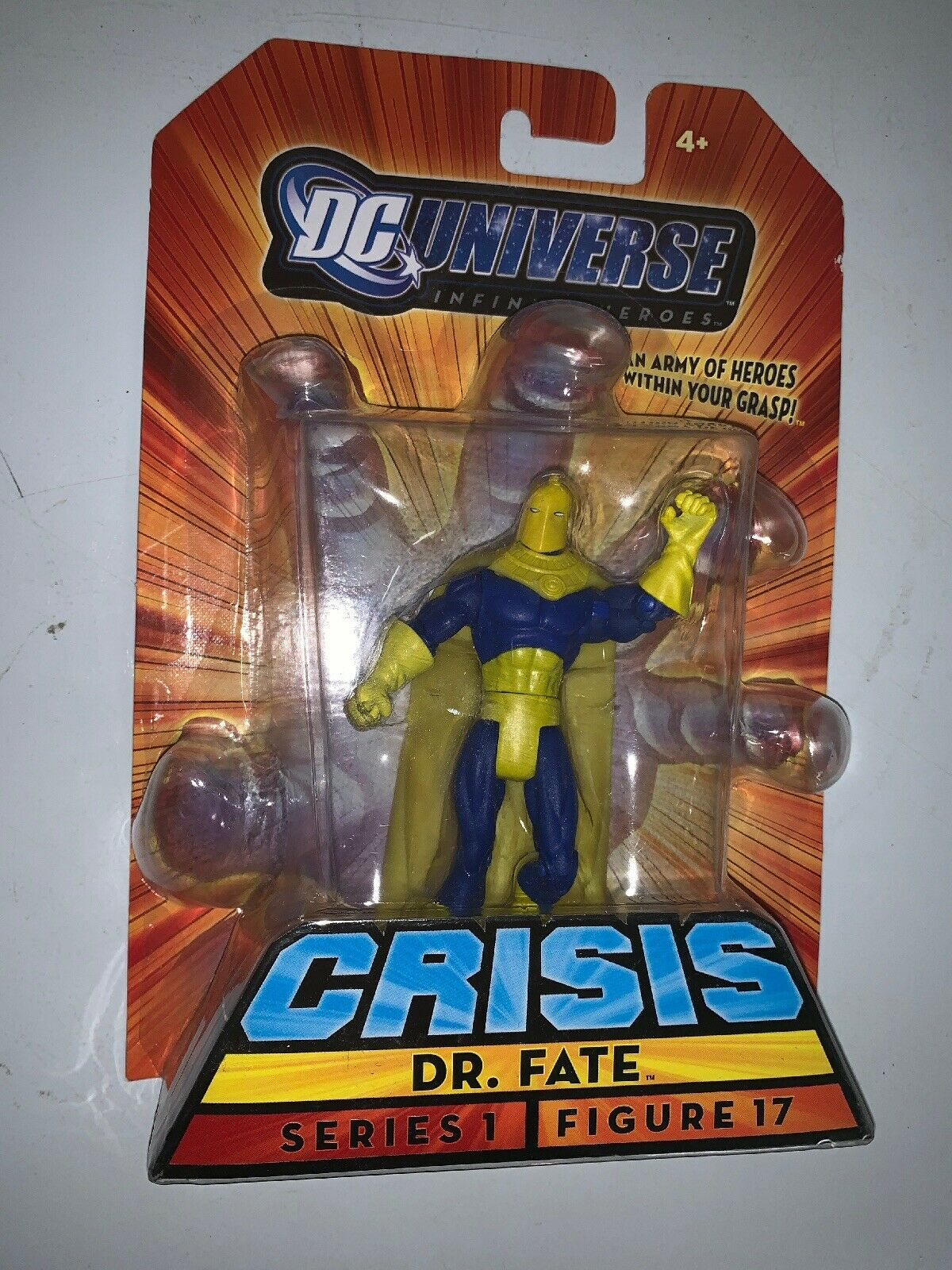 "DC UNIVERSE INFINITE HEROES CRISIS 3 3 4"" DR FATE ACTION FIGURE 1 18th RARE"