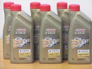 8-82-L-castrol-Edge-Professional-TITANIO-FST-ll-III-5w-30-6-x-1-l-para-VW-AUDI