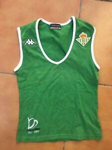 b769dcb94d19c La imagen se está cargando Camiseta-Futbol-Real-Betis-Mujer-Kappa-Vintage