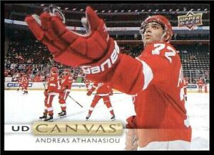 2019-20-Upper-Deck-UD-Canvas-C13-Andreas-Athanasiou-Detroit-Red-Wings