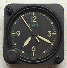 Longines Wittnauer 7 Jewel Cal 63 A-11 Aircraft Clock Green Yellow Hands AN-5743