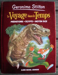 Details Sur Livre Le Voyage Dans Le Temps Prehistoire Egypte De Geronimo Stilton