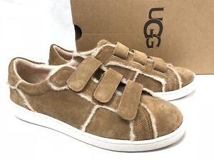 14624c9b3f2 Details about Ugg Australia Alix Spill Seam Sneaker Tennis Shoe 1091949  Chestnut Suede Women's