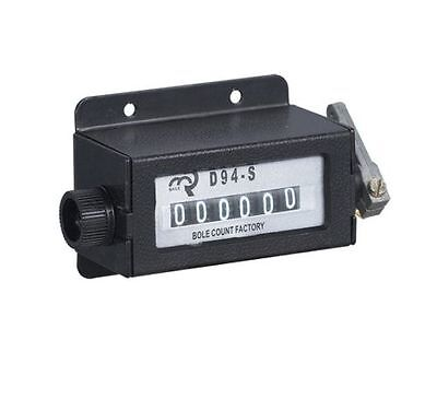 D94-S 0-999999 6 Digit Resettable Mechanical Pulling Counter K8M2