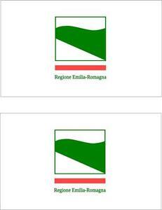 2x-Adhesivo-adesivi-pegatina-sticker-vinilo-bandera-vinyl-italia-emilia-romana
