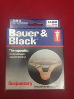 One Bauer & Black Therapeutic Scrotal Suspensory Pouch Xl 202612 White/beige
