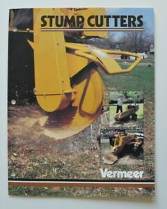 VERMEER-Stump-Cutters-1991-dealer-brochure-catalog-English-USA