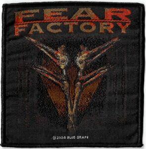Official-Licensed-Merch-Woven-Sew-on-PATCH-Heavy-Metal-FEAR-FACTORY-Archetype
