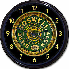 Boswell Beer Quebec Canada Tray Wall Clock National Breweries Biere Ale Lager