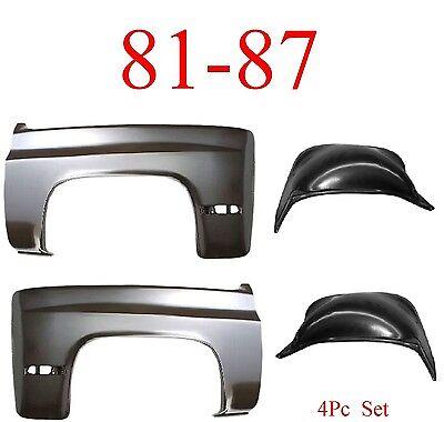 Wheelhouse compatible with Chevrolet Suburban 81-91 Inner Fender Right