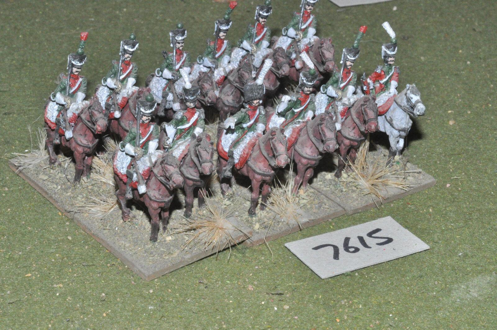 25mm napoleónicas francés-Chasseur francés-Chasseur a Cheval 12 de caballería de Metal-CAV (7615)  tienda en linea
