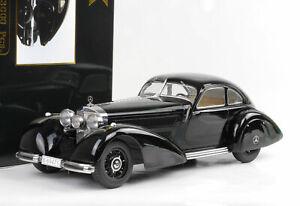 Mercedes-Benz-540K-540-K-1938-Auto-Train-Messenger-Black-1-18-Kk-Diecast-New