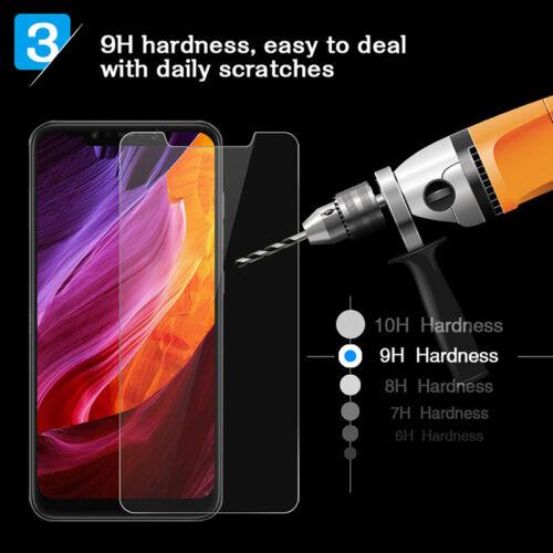 1-4X For Xiaomi Pocophone F1 Screen Protector 9H Tempered Glass Film Skin Case L