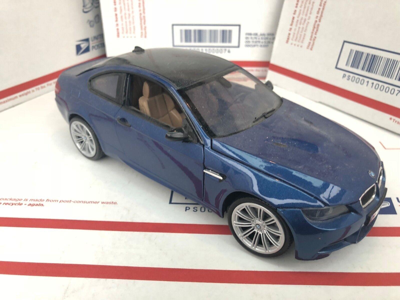 1 18 Motormax BMW M3 sans boîte