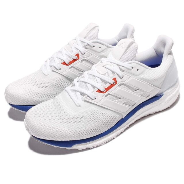 1bf409785 adidas Supernova Aktiv Mens White Cushioned Running Sports Shoes ...