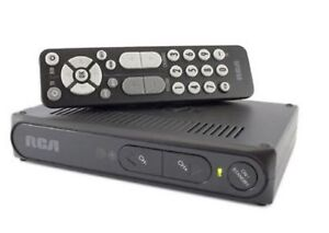 rca dtv digital to analog tv converter box dta800b1l tested with rh ebay com RCA Converter Box DTA800B Codes RCA Digital Converter Box Manual