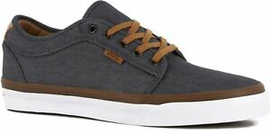 VANS Chukka Low (Denim) Pewter White Classic Shoes MEN S 7 WOMEN S ... 893f0c04e2