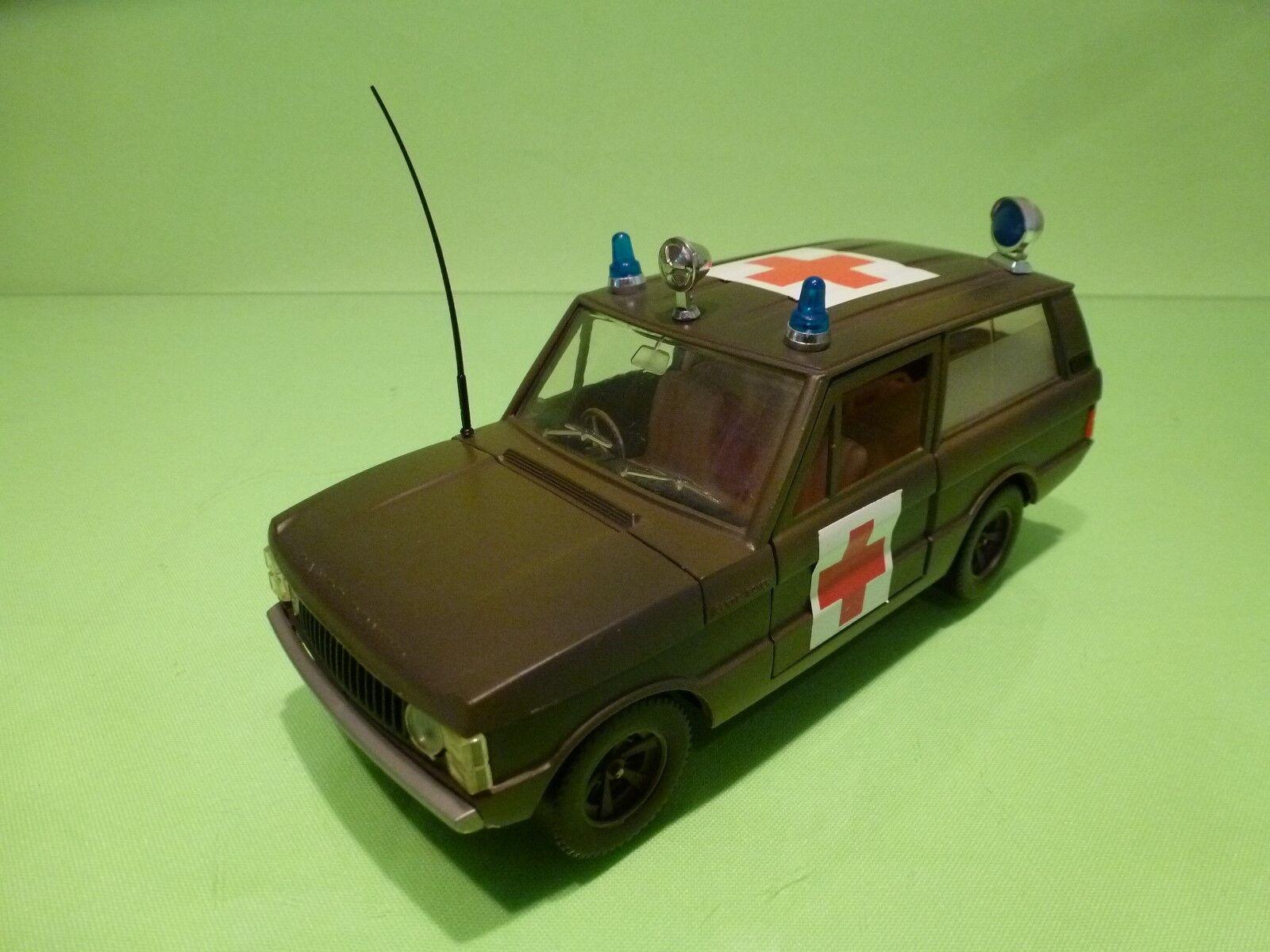 Bburago 24 range rover militärische krankenwagen - sehr selten - in gutem zustand
