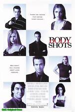 "MOVIE POSTER~Body Shots Tara Reid Amanda Peet 1999 27x40"" Original Film Print~"