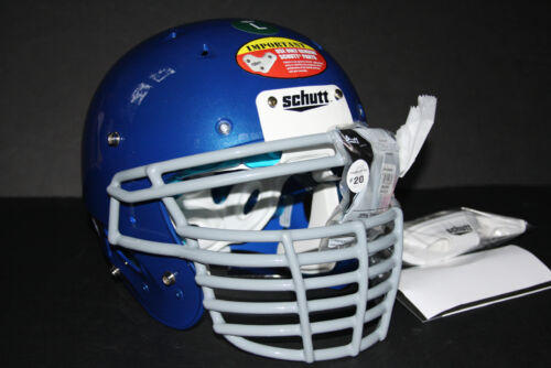 Schutt ADULT Football Helmet 2013 DNA PRO Metallic Royal New Game W/ or WO/ Mask