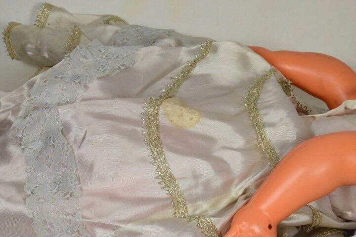 Bambola Matrimonio vintage-11C anni'50 celluloide Ratti Athena doll Abito sposa vintage-11C Matrimonio bdf0ea