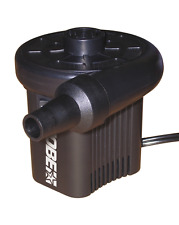 New! Jobe 12V AIR PUMP 3 NOZZLE INFLATABLE /  TOWABLE / BOAT WATER SPORTS