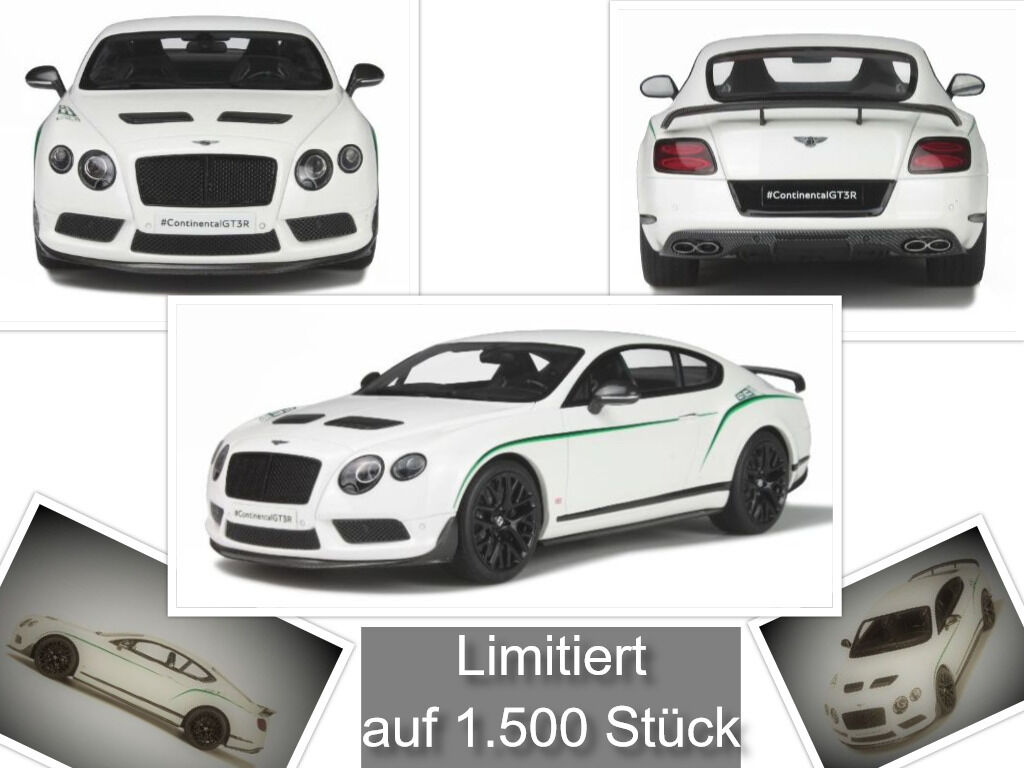 Bentley Continental gt3-r limitée 1.500 Pièces GT SPIRIT 1 18