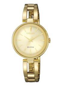 Citizen-Eco-Drive-EM0632-81P-Ladies-Solar-Gold-Watch-RRP-399-00