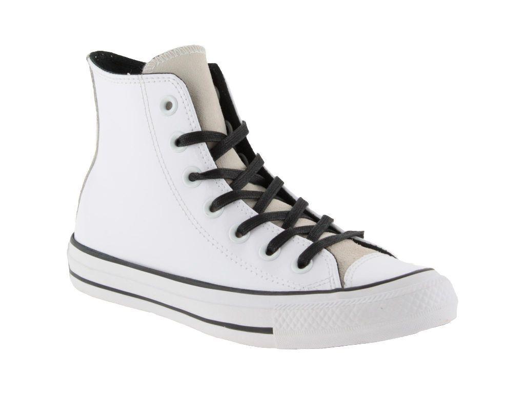 Zapatos promocionales para hombres y mujeres CONVERSE ALL STAR CHUCK TAYLOR HIGH TOP PANTED VERICE LUCIDA DONNA BIANCO