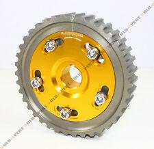 HONDA CIVIC DEL SOL SOHC D16 D15 D-SERIES ENGINE JDM ADJUSTABLE GOLD CAM GEAR